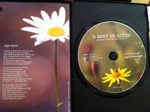 Binnenkant van de DVD box.