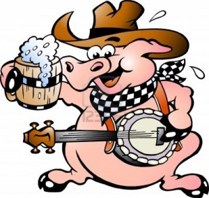 13963834-hand-drawn-illustratie-van-een-varken-het-spelen-banjo[1]
