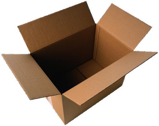Een lege doos for Forrar cajas de carton con tela